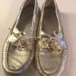 Sperry Gold Top Sider Sz 9